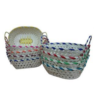 Palm Leaf Basket set 4