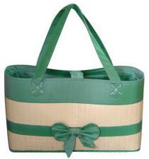 Bamboo Hand Bag-GRN