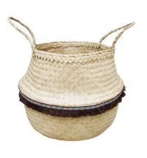 Seagrass Basket BB4-0408-16/BR