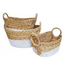 Water Hyacinth Basket BB5-1856/16