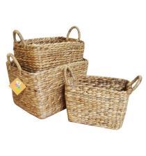 Water Hyacinth Basket BB5-1864/16