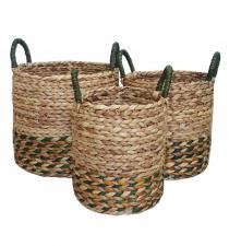 Water Hyacinth Basket BB5-HKBB5/3