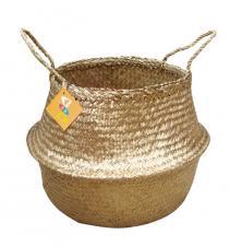 Seagrass Basket BB4-0432/16 Golden