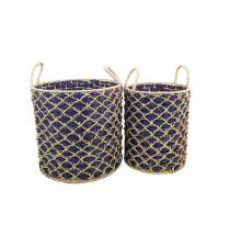 Water Hyacinth Basket BB5-2045-16