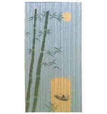 Coco dugout canoe bamboo curtain BB33002