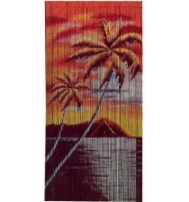 Coco sunset bamboo curtain BB33004