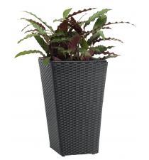 Woven plastic planter BB00002