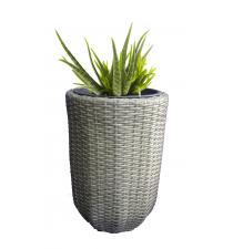 Woven plastic planter BB00014