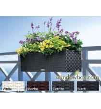 Woven plastic planter BB00077